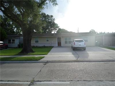 Metairie Single Family Home For Sale: 1505 David Drive