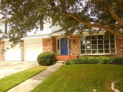 Gretna Single Family Home For Sale: 300 Bellemeade Boulevard