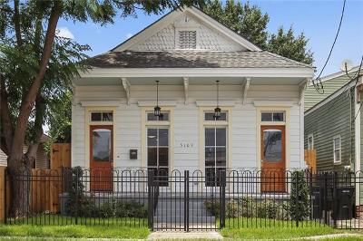 Single Family Home For Sale: 5109 Tchoupitoulas Street