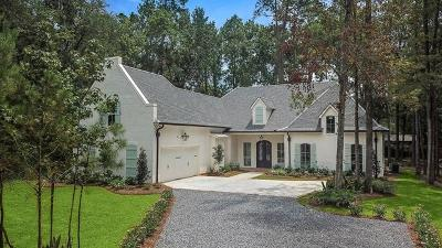 Mandeville LA Single Family Home For Sale: $694,500