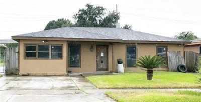 Gretna Single Family Home For Sale: 2836 Glenbrook Drive