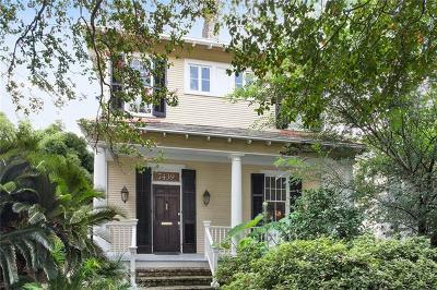 New Orleans Multi Family Home Pending Continue to Show: 7439-41 Hampson Street