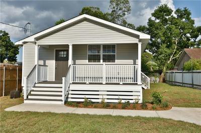Kenner Single Family Home For Sale: 1302 Webster Street