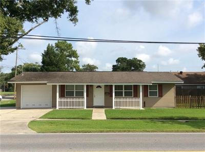 River Ridge, Harahan Single Family Home For Sale: 2201 Generes Drive