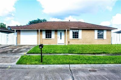 Marrero Single Family Home For Sale: 1220 King Street