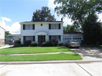 Metairie Single Family Home Pending Continue to Show: 6808 Schouest Street