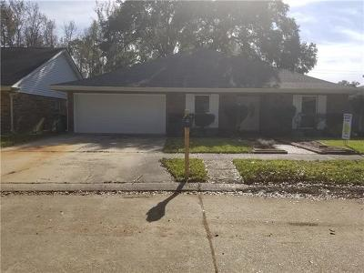 Marrero Single Family Home For Sale: 2925 Villa Drive