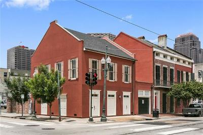New Orleans Townhouse For Sale: 765 Carondelet Street
