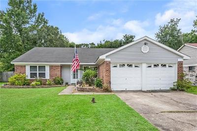 Slidell Single Family Home For Sale: 411 W Lake Catahoula Court