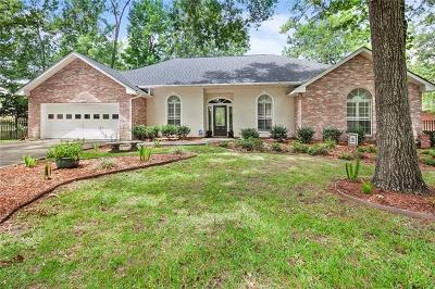Mandeville Single Family Home For Sale: 131 Richland Drive