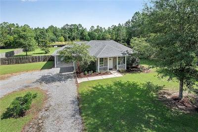 Mandeville Single Family Home Pending Continue to Show: 22513 Strain Road