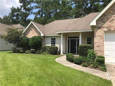 Madisonville Single Family Home For Sale: 236 Highland Oaks North