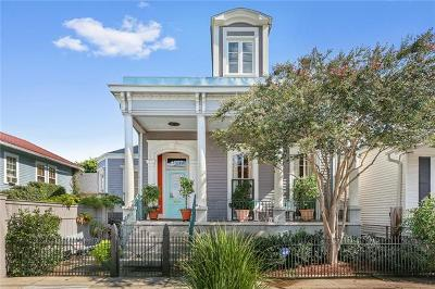 New Orleans Single Family Home For Sale: 4027 Laurel Street