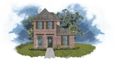 Slidell Single Family Home For Sale: 166 Aston Parc