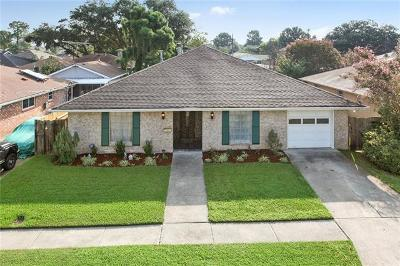 Metairie Single Family Home For Sale: 4617 Academy Drive