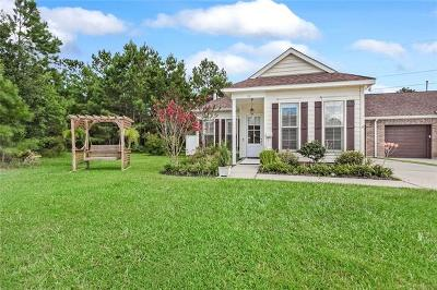 Slidell Single Family Home For Sale: 180 Cross Creek Drive #A