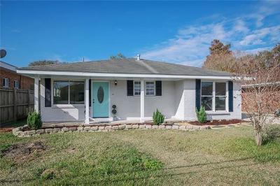 Kenner Single Family Home For Sale: 2503 Kansas Avenue