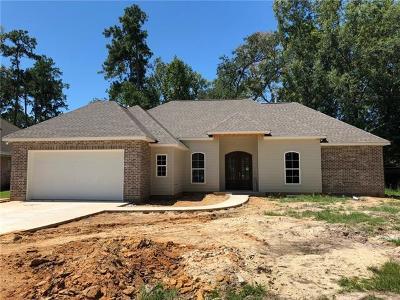 Mandeville Single Family Home For Sale: 844 McNamara Street