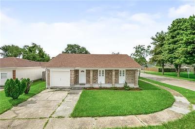 Gretna Single Family Home For Sale: 2713 Fairfield Avenue