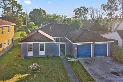Gretna Single Family Home For Sale: 325 Brookmeade Drive
