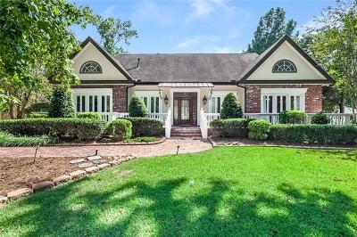 Madisonville Single Family Home For Sale: 112 Bayou Perez Drive