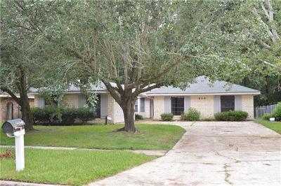 Slidell Single Family Home For Sale: 640 9th Street