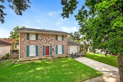 Kenner Single Family Home For Sale: 509 Yale Drive