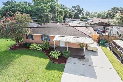Metairie Single Family Home Pending Continue to Show: 2333 Michigan Avenue