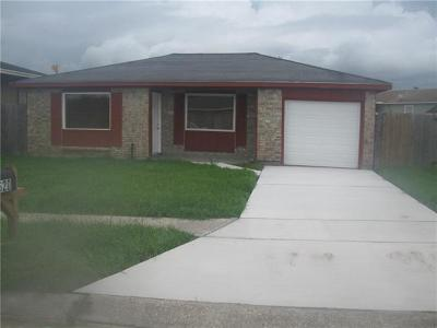 Marrero Single Family Home For Sale: 6620 Benedict Drive