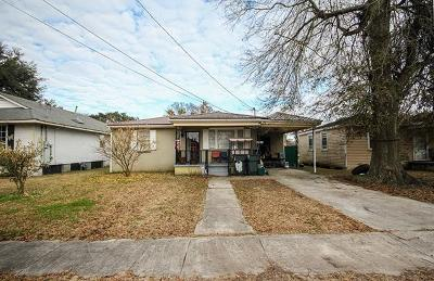 Kenner Single Family Home For Sale: 916 Curtis Avenue