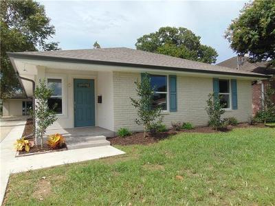 Metairie Single Family Home Pending Continue to Show: 1411 Claudius Street