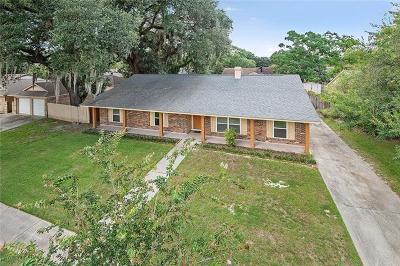 Slidell Single Family Home For Sale: 804 N Lake Verret Court