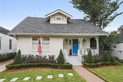New Orleans Single Family Home For Sale: 320 Cherokee Street