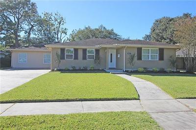 Metairie Single Family Home For Sale: 4712 Page Drive