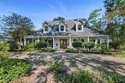 Slidell Single Family Home For Sale: 105 Blackbeard Drive