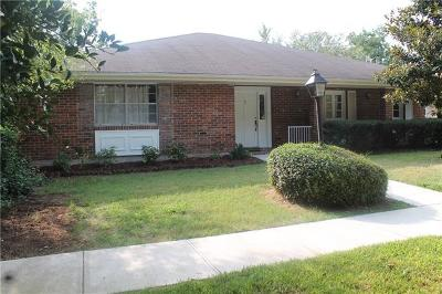 Kenner Single Family Home For Sale: #3 Monte Carlo Drive