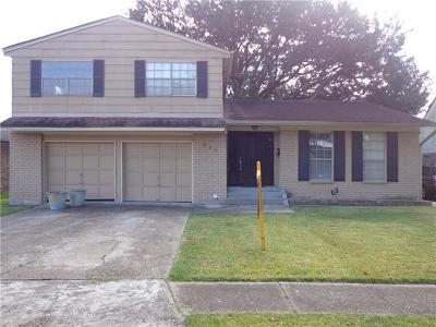 Gretna Single Family Home For Sale: 219 Bienville Drive