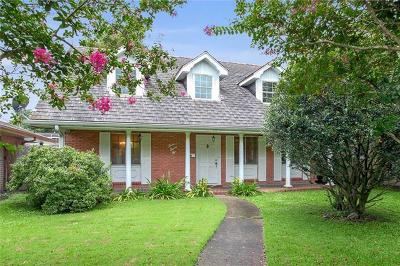 Metairie Single Family Home For Sale: 332 Ridgeway Drive
