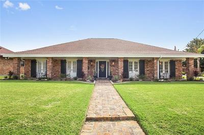 Marrero Single Family Home For Sale: 1509 Avenue E Avenue