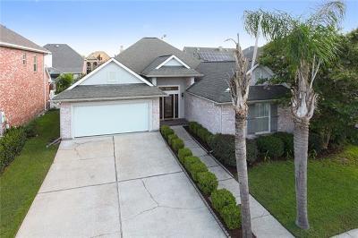 Kenner Single Family Home For Sale: 228 Legrande Bayou Lane