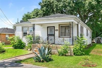 New Orleans Single Family Home For Sale: 3906 Iroquois Street