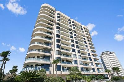 New Orleans Condo For Sale: 600 Port Of New Orleans Place #6F