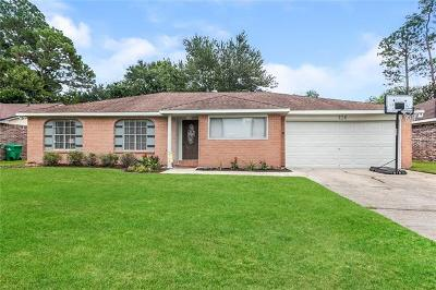 Slidell Single Family Home Pending Continue to Show: 126 Nottingham Drive