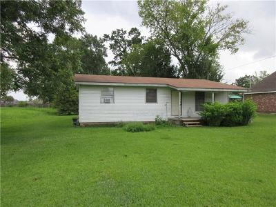 Montz Single Family Home For Sale: 17986 River Road