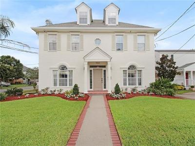 Metairie Single Family Home For Sale: 720 Jefferson Avenue