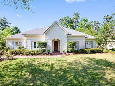 Mandeville Single Family Home For Sale: 121 Acadian