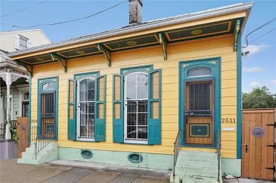 New Orleans Single Family Home For Sale: 2509 Dauphine Street