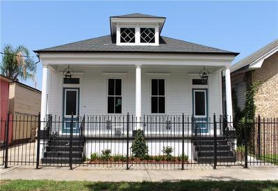 New Orleans Single Family Home For Sale: 623 & 625 Second Street