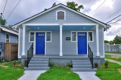 New Orleans Single Family Home For Sale: 1242 Piety Street