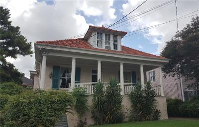 New Orleans Single Family Home For Sale: 1925 Peniston Street